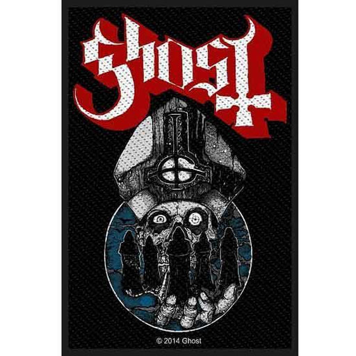 Patch - Ghost - Warriors-Metalomania