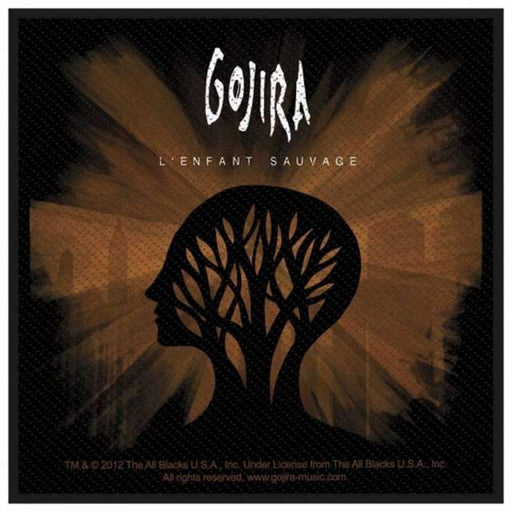 Patch - Gojira - L'enfant Sauvage-Metalomania