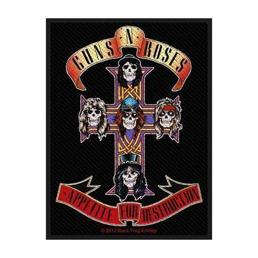 Patch - Guns N Roses - Appetite-Metalomania