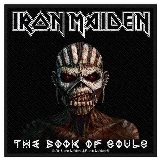 Patch - Iron Maiden - Book of Souls-Metalomania