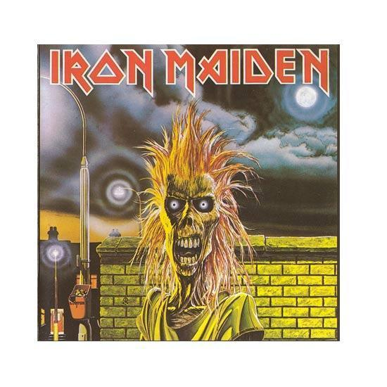 Patch - Iron Maiden - Hairy Hair-Metalomania