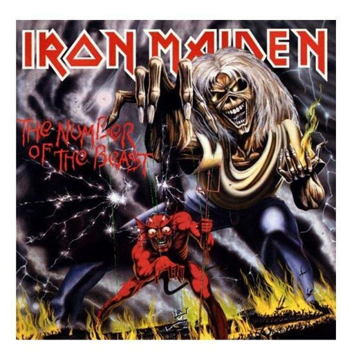 Patch - Iron Maiden - Number of the beast-Metalomania
