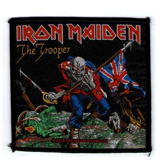 Patch - Iron Maiden - The Trooper-Metalomania
