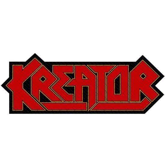 Patch - Kreator - Logo Cut-Out-Metalomania