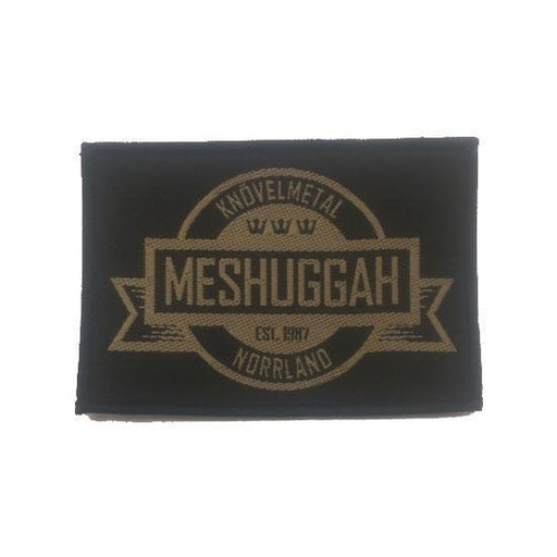 Patch - Meshuggah - Crest-Metalomania