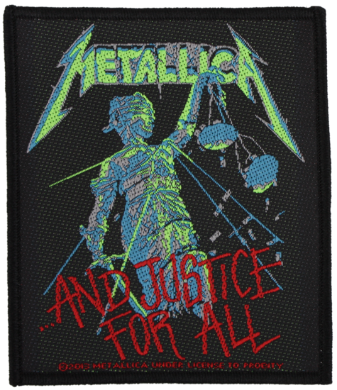 Patch - Metallica - And Justice For All