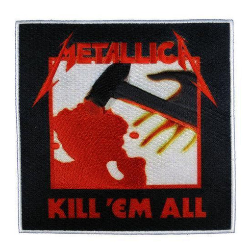 Patch - Metallica - Kill Em All-Metalomania