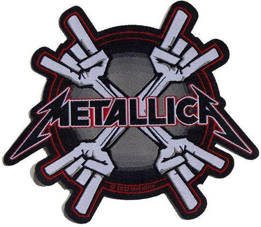 Patch - Metallica - Metal Horns-Metalomania