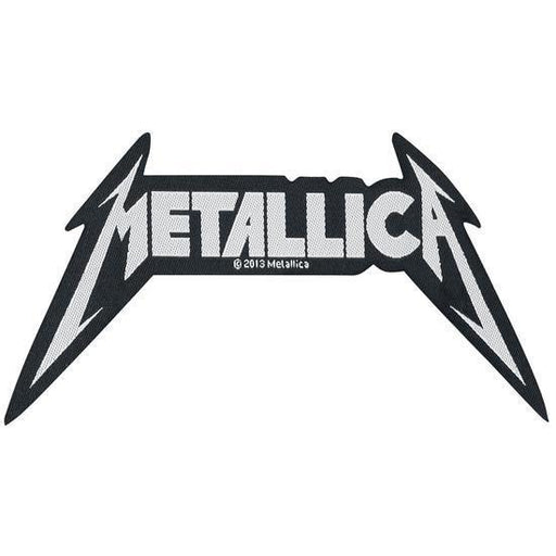 Patch - Metallica - Shaped Logo-Metalomania