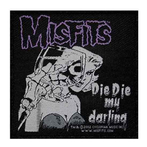 Patch - Misfits - Die Die My Darling-Metalomania
