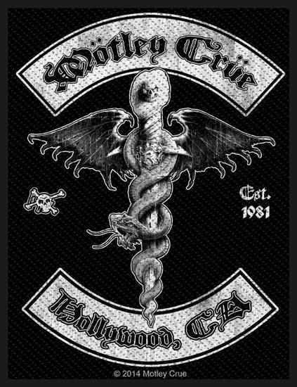 Patch - Motley Crue - Hollywood-Metalomania