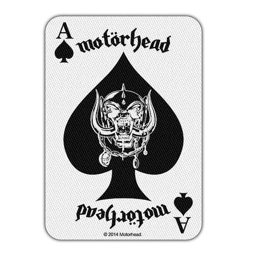 Patch - Motorhead - Ace of Spades Card-Metalomania
