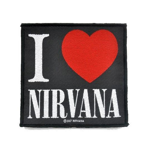 Patch - Nirvana - I Love Nirvana-Metalomania