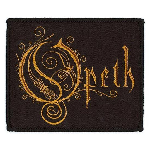 Patch - Opeth - Logo-Metalomania