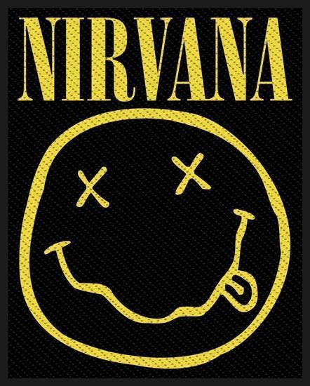Patch - Nirvana - Smiley-Metalomania