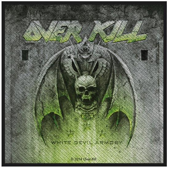 Patch - Overkill - White Devil Armory-Metalomania