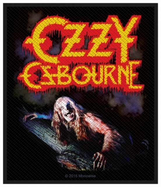 Patch - Ozzy Osbourne - Bark at the Moon-Metalomania