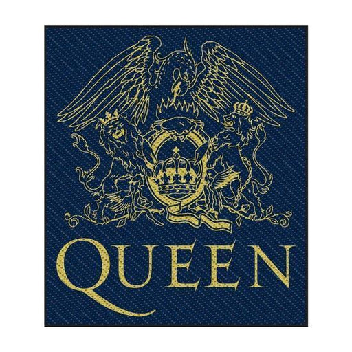 Patch - Queen - Crest-Metalomania