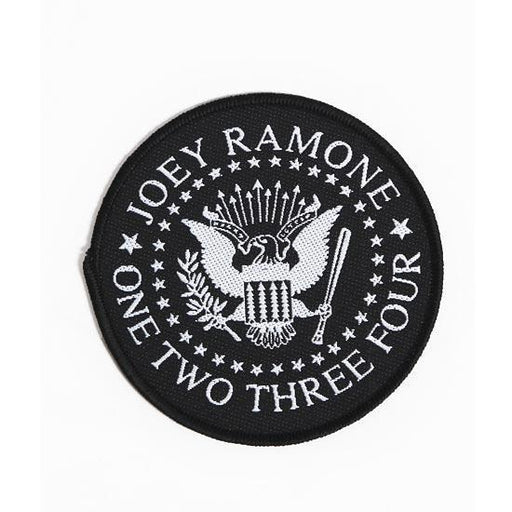 Patch - Ramones - Presidential Seal (round)-Metalomania