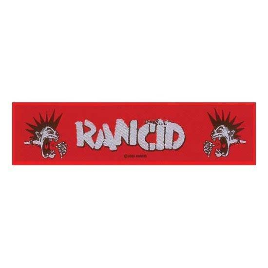 Patch - Rancid - Mohawk Strip Patch-Metalomania