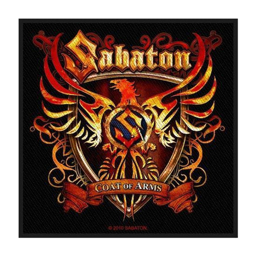 Patch - Sabaton - Coat of Arms-Metalomania
