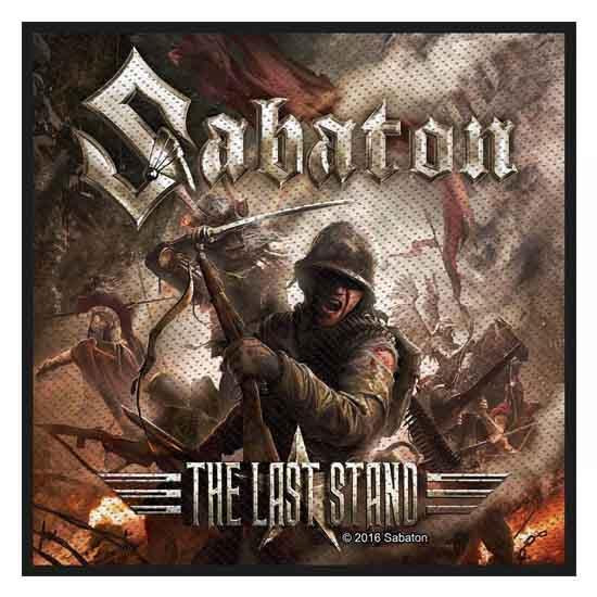 Patch - Sabaton - The Last Stand-Metalomania