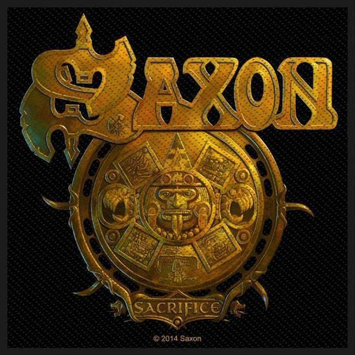 Patch - Saxon - Sacrifice-Metalomania