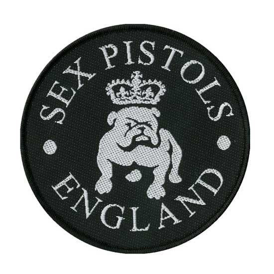 Patch - Sex Pistols - Bulldog-Metalomania