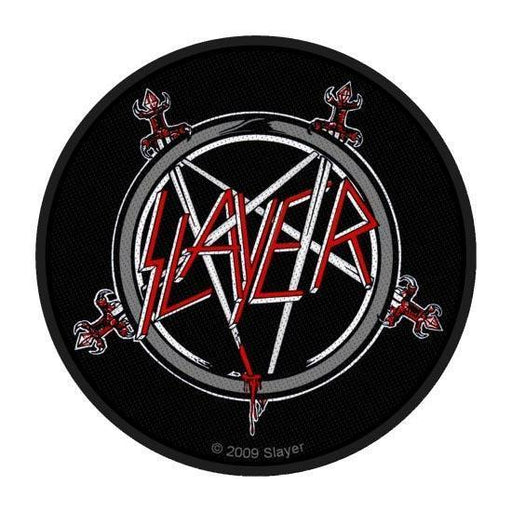 Patch - Slayer - Pentagram-Metalomania