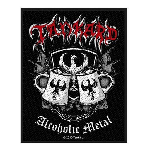 Patch - Tankard - Alcoholic Metal-Metalomania