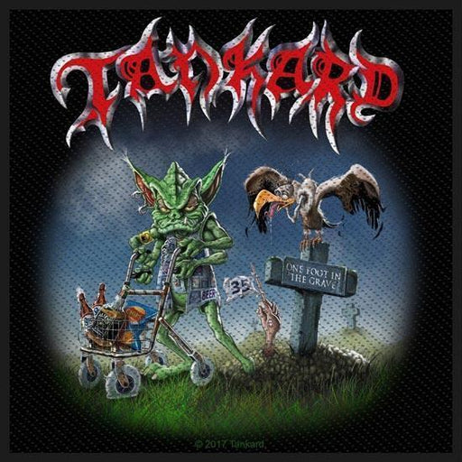 Patch - Tankard - One Foot in The Grave-Metalomania