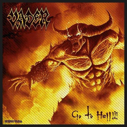Patch - Vader - Go To Hell-Metalomania