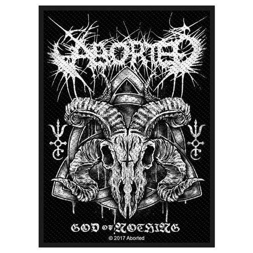 Patch - Aborted - God of Nothing-Metalomania