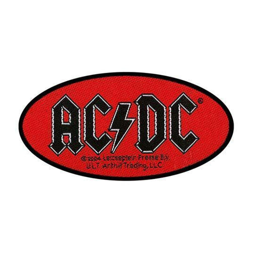 Patches - ACDC - Oval Logo-Metalomania
