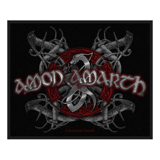 Patch - Amon Amarth - Viking Emblem-Metalomania