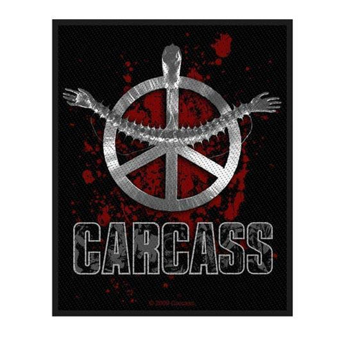 Patch - Carcass – Heartwork-Metalomania