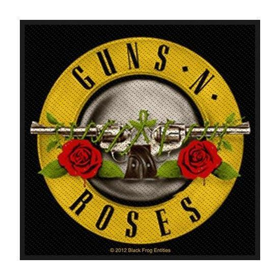 Patches - Guns & Roses - Bullet Logo (square patch)
