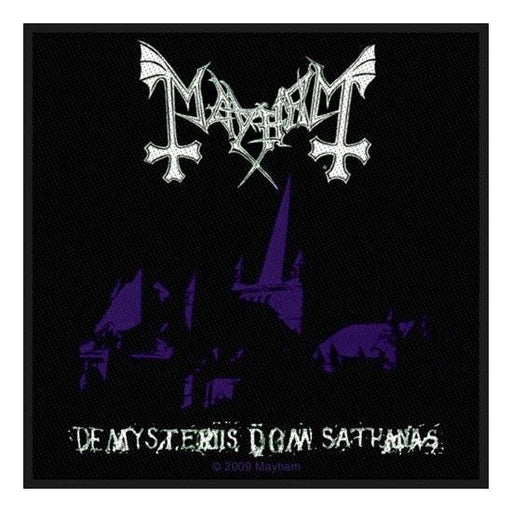 Patches - Mayhem - De Mysteriis-Metalomania