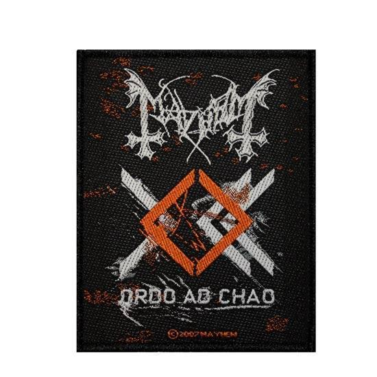 Patch - Mayhem - Ordo Ad Chao-Metalomania