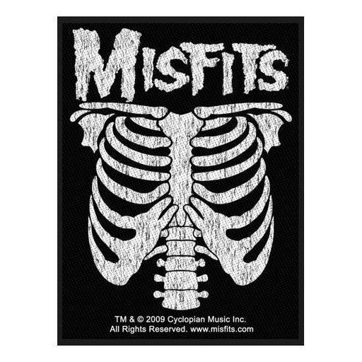 Patch - Misfits - Ribcage-Metalomania