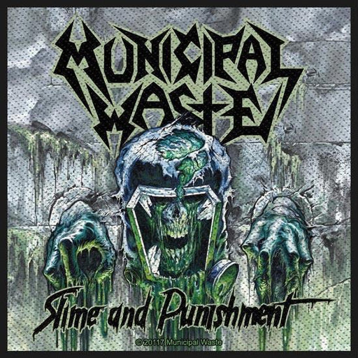 Patch - Municipal Waste - Slime and Punishment