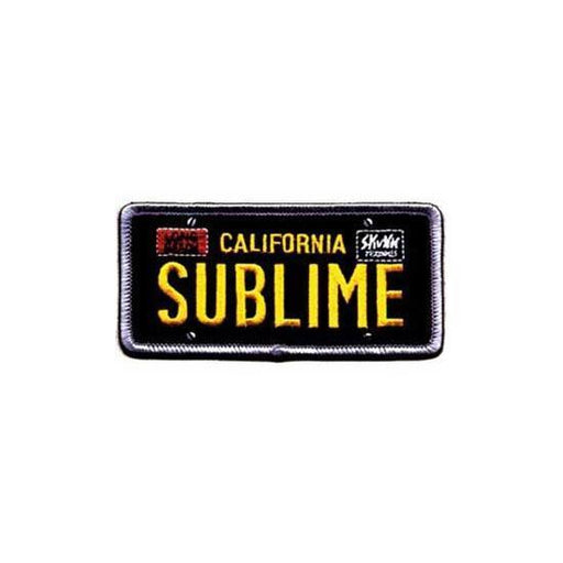 Patch - Sublime - License Plate
