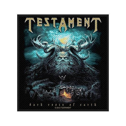 Patch - Testament - Dark Root of the Earth-Metalomania