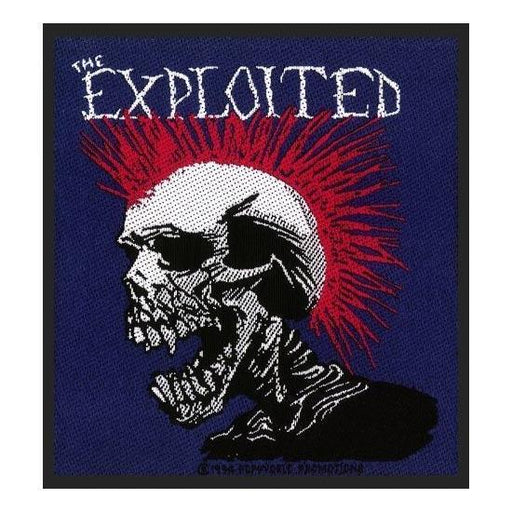 Patch - The Exploited - Punk Skull