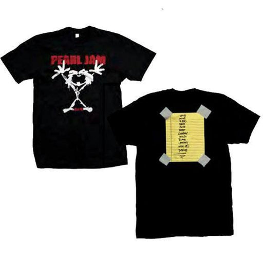 T-Shirt - Pearl Jam - Stickman-Metalomania