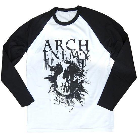 Raglan - Arch Enemy -  Skull