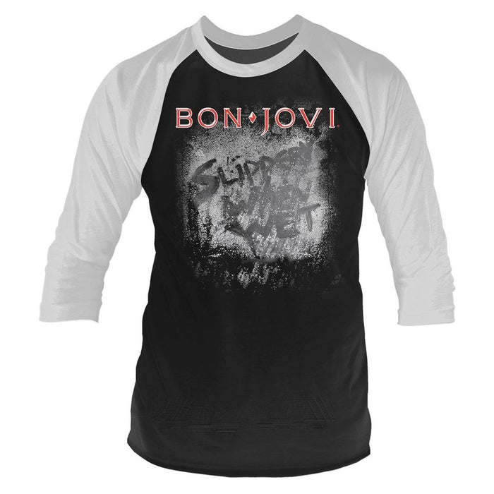 Raglan - Bon Jovi - Slippery When Wet