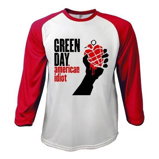 Raglan - Green Day - American Idiot