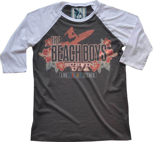 Raglan - The Beach Boys - Live Color Vintage