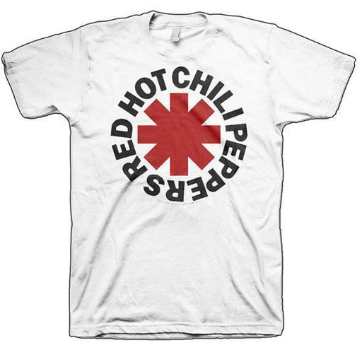 Red Hot Chili Peppers - Logo WHITE (T-Shirts)